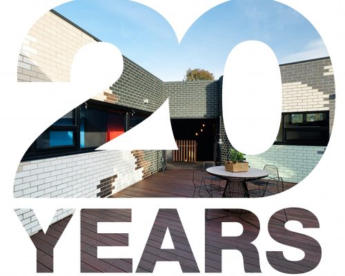 Celebrate with us the 20 year anniversary of the Tech-Dry Masonry Blocks!