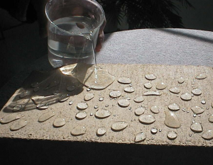 Water repellent effect