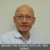 BEHIND THE SCENES WITH DR. REN